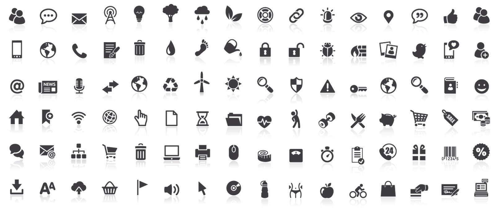 Stock Illustration Icons