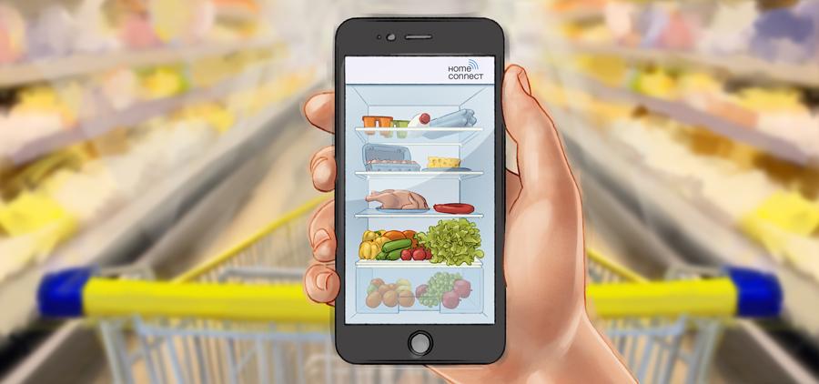 Illu Kühlschrank-App