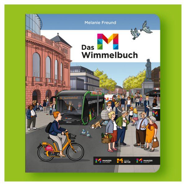 Das M-Wimmelbuch | Stadtwerke Mainz